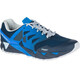 Merrell Agility Peak Flex 2 E-Mesh Running Shoes Men blue